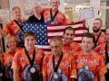 команда США участники 22 чемпионата мира по гиревому сполрту в Сан Диего 3-5 октября 2014
